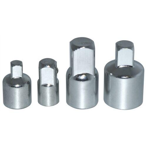 "Amtech 4pc 1//4/"" to 3//8/"" to 1//2/"" Socket Adaptor Reducer Converter Set Kit"