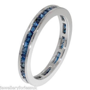 18Carat-White-Gold-Princess-Cut-Natural-Blue-Sapphire-Full-Eternity-Ring-1-00ct