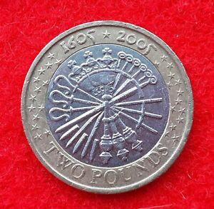 1605 to 2005 2 pound coin worth