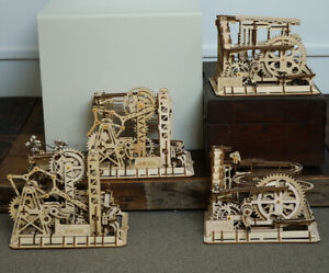ROKR-Mechanical-Model-Building-Kits-Assembly-Wooden-Marble-Run-Game-Toy-Adults