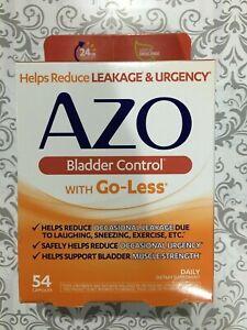 AZO Bladder Control 54 Capsules NEW Expiration Date MARCH 2021 NIB