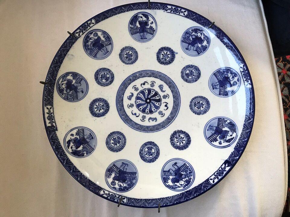 Kinesisk antik fad, Porcelæn