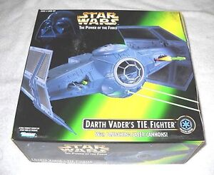 STAR-WARS-POWER-OF-THE-FORCE-Darth-Vaders-Tie-Fighter-New-Sealed