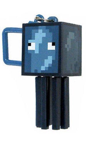 Minecraft Series 2 CALAMARI 3D Portachiavi Portachiavi Borsa STAFFE miniera Craft TOY FIGURE
