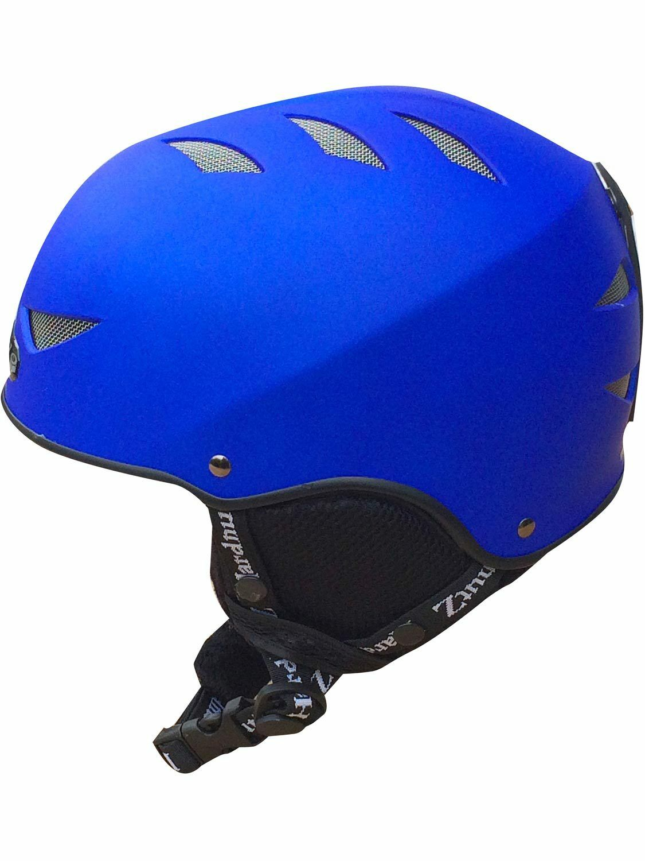 Hardnutz Ski Helmet bluee Adult & Kids Sizes Rubber Ski Helmet Snowboard New