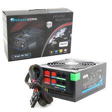 Powercool Modular 650W PSU 80+ Single Rail High Efficiency 80 PLUS PSU (2x 6Pin)