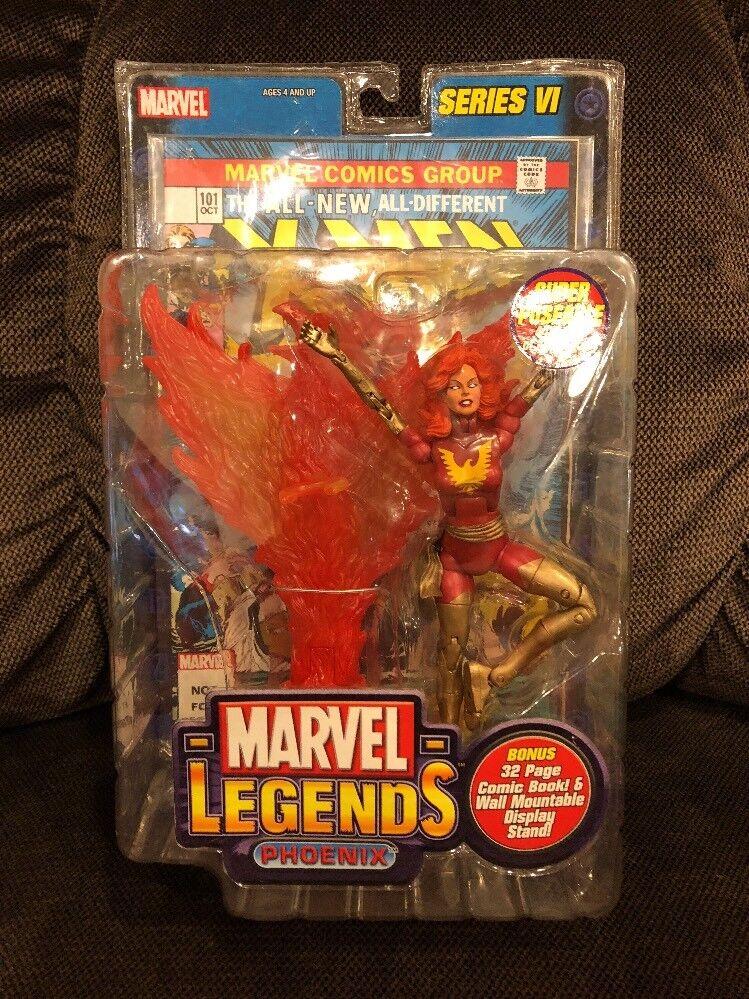 Rare Marvel Legends Series Variant Dark Phoenix ToyBiz Series VI VI VI Action Figure 52ea67