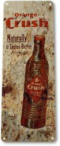 Orange-Crush-Soda-Cola-Drink-Kitchen-Metal-Decor-Sign