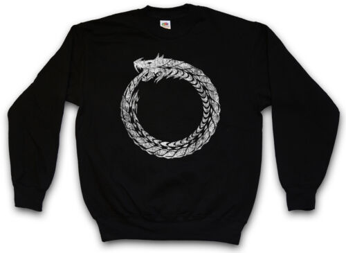Schlange Myths Ouroboros Snake Ancient Mythologie Uroboros Sweatshirt Pullover qXq4wftv