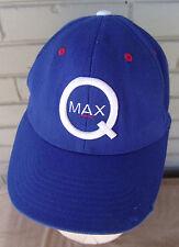 Q Max Q Beat Up Blue Richardson L/XL Baseball Cap Hat Distressed As Is