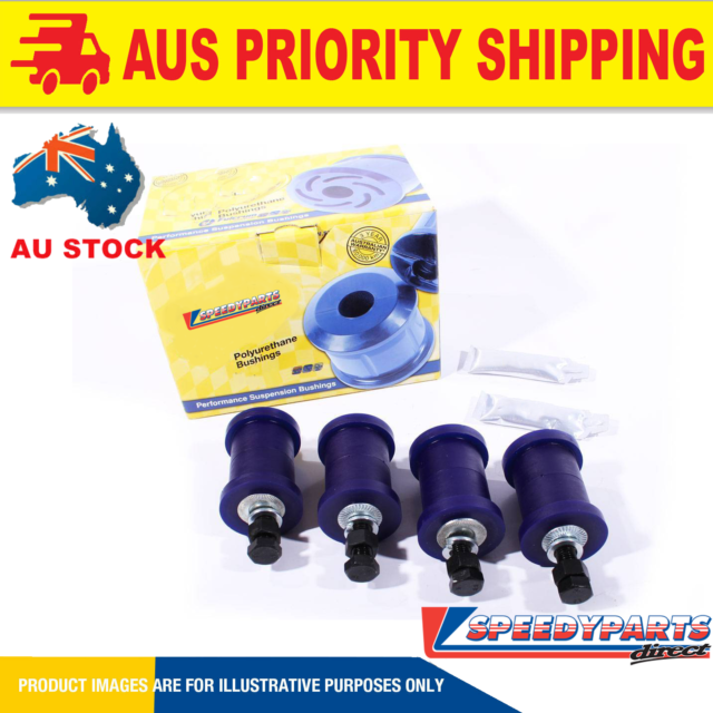 SpeedyParts FOR HOLDEN COMMODORE VY-VZ VX IRS ADJUSTING CAMBER & TOE KIT SPF0...