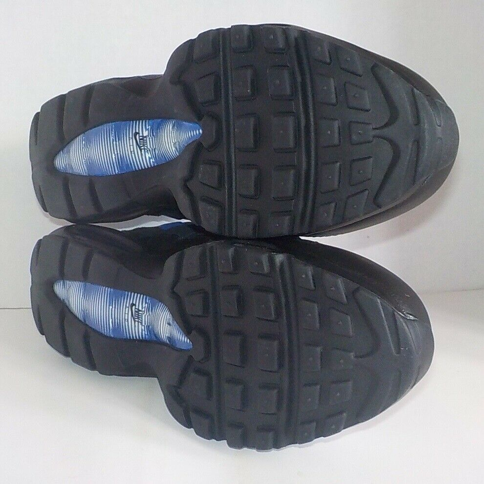 Nike AIR MAX 95 ESSENTIAL Running schuhe schwarz schwarz schwarz lila 749766 501 Men Größe 11 b5b074