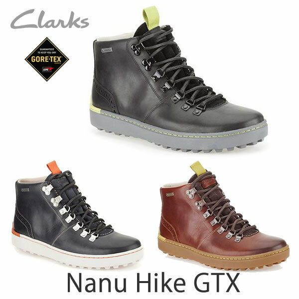 Clarks Da Uomo  X NANU HIKE GTX  impermeabile, Blu Navy Lea  G