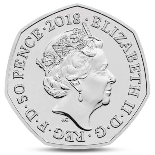 UK GREAT BRITAIN 50 PENCE PADDINGTON AT THE STATION 2018 BUNC PRESENTATION PACK