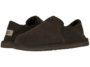 45611ef6596 NEW MEN UGG 2019 KENTON CHOCOLATE SHEEPSKIN COMFORT SHOES SLIPPERS ...