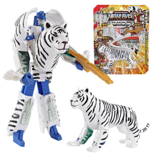 Children/'s Toy Animal Transformer  Robot Car Anime Figurine Christmas Gift Hot