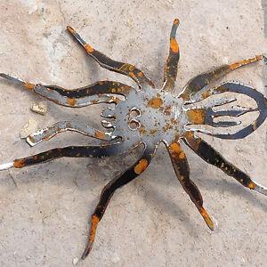 Spinne vogelspinne tier metall stahl rost edelrost for Gartendekoration aus rost