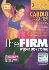 THE FIRM CARDIO BURN & FIRM COLLECTION 3 WORKOUTS ON 1 DVD NEW SEALED EXERCISE