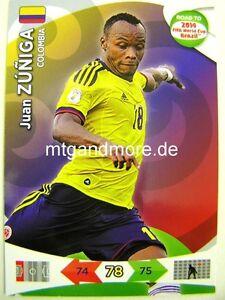 Adrenalyn-XL-Juan-Zuniga-Kolumbien-Road-to-2014-FIFA-World-Cup-Brazil