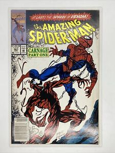 Amazing-Spiderman-ASM-361-Key-First-Carnage-Appearance-Marvel-Newsstand-Edition