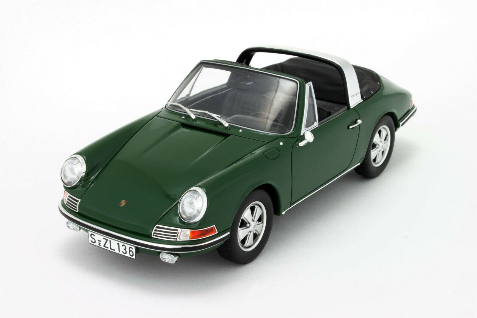 PORSCHE 911 901 2L TARGA 1967 verde GTSPIRIT GT001CS 1 18 RESINE GRUN verde verde