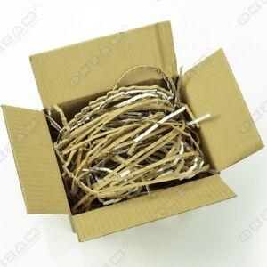 50 kg Füllmaterial Versand Polster Verpackungsmaterial Pappe Karton Schredder