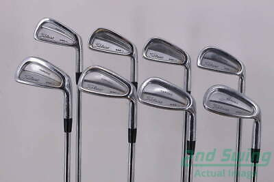 Titleist 690.CB Forged Iron Set Steel Stiff Right Handed 38.0in  | eBay
