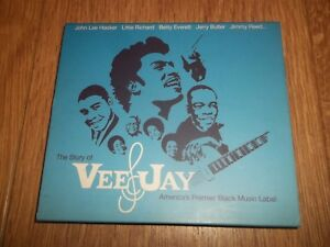 VARIOUS-THE-STORY-OF-VEE-JAY-DOUBLE-CD-ALBUM-EXCELLENT-CONDITION