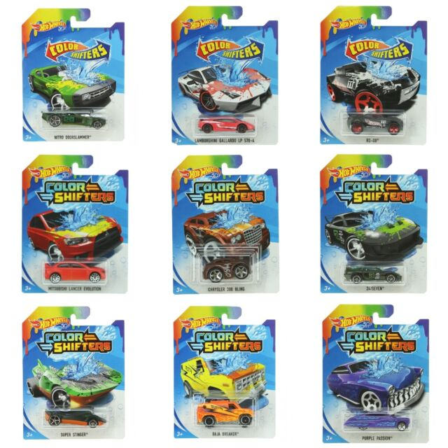 Hot Wheels Color Shifters 57 Chevy Vehicle Mattel