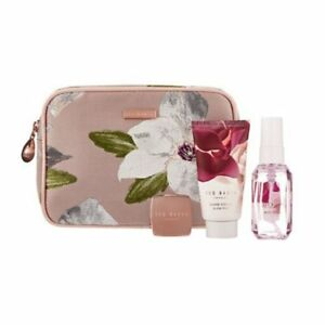 Image is loading Ted-Baker-Blush-Trio-Gift-Set-Makeup-Bag-