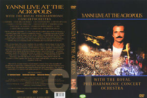 Details about YANNI - Live At The Acropolis (1994) DVD NEW