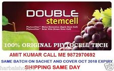 Phytoscience Double StemCell, Anti Aging ( 14 Sachets ) 1 pack apple&graphes