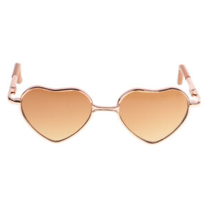 Fashion Heart Shaped Alloy Frame Glasses For 12/'/' Neo Blythe Doll Beauty ACCES