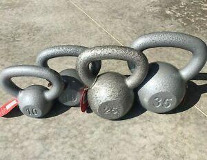 Weider Cast Iron Kettlebell 10 25 15 20 30 /& 35 lb Single ✅ Choose Weight ✅