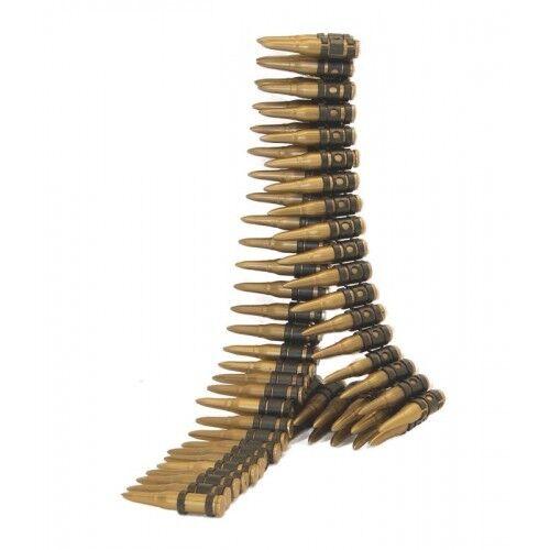 Army Bullet Belt 150cm Military Fancy Dress Costume Accessory 96 Bullets