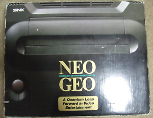 NEO-GEO-AES-Console-System-Boxed-neogeo-SNK-Tested-JAPAN-Rare-Used