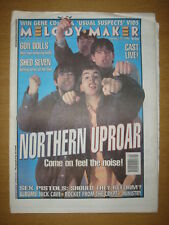 MELODY MAKER 1996 JAN 27 NORTHERN UPROAR SEX PISTOLS
