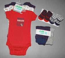Baby boy clothes, Newborn, Carter's Child of Mine, bodysuits, pants, booties