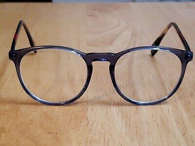 CONVERSE Q324 BLUE 50-19-145 Eyeglasses UNISEX ROUND FULL RIM | eBay