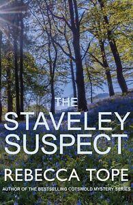 Rebecca-Tope-The-Staveley-Suspect-Tout-Neuf-Livraison-Gratuite-Ru