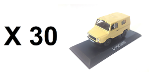 Lotes de 30 coches 1 43 Luaz 969M Coche Modelo Diecast URSS al por mayor a granel BA33