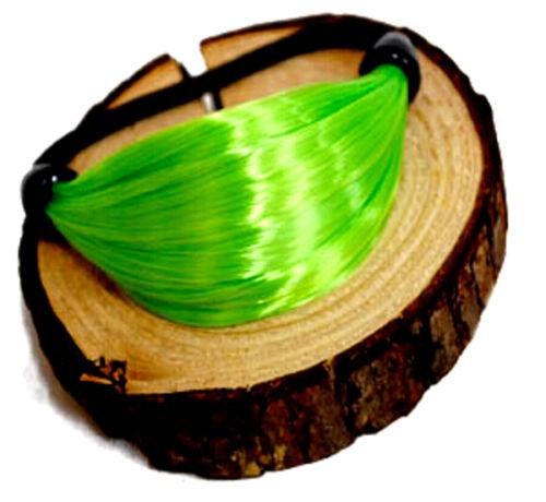 Haarband Haargummi Haarschmuck Kunsthaar Zopf Band Neon Bunt Farben
