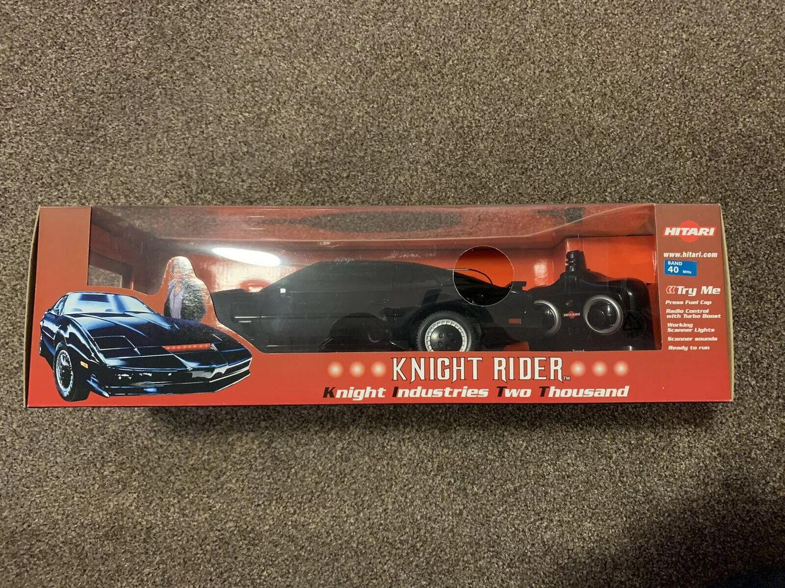 Hitari controlados por radio RC Coche Knight Rider 2000 KITT-Nuevo