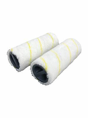 Kga Supplies Roller Set for Karcher Wet /& Dry FC5 Hard Floor