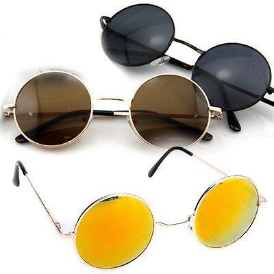 New Vintage Style Frame Lens Retro Round Sunglasses Retro Eyeglasses Polarized