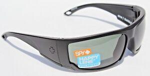 7efd64aea0 Image is loading SPY-OPTICS-Tackle-POLARIZED-Sunglasses-Matte-Black-Happy-