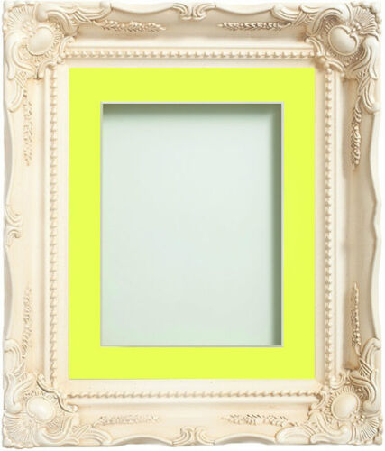 Frame Company Langley Range Ornate Ivory Picture Photo Frames with Mount