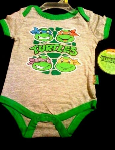 USA seller Baby size 6//9 /& 3//6 /& 0//3 mos Teenage Mutant Ninja Turtles shirt top