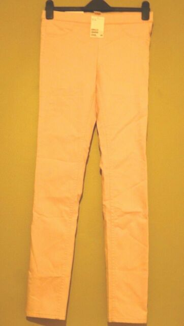 dc9c237783eb6c H&M Superstretch Treggings Legging Trousers Pants Size 12 BNWT RRP £16.98  Pink