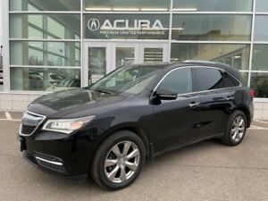 2014 Acura MDX Elite Pkg Elite, LOW km one owner, well maintained